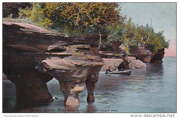 Wisconsin Apostle Islands The Three Legged Stool Sand Island