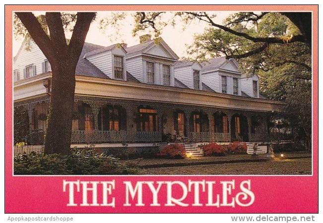 Louisiana St Francisville The Myrtles Planation Circa 1796