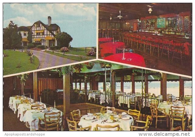 New York Long Island Sayville Land's End Restaurant Motel Marina