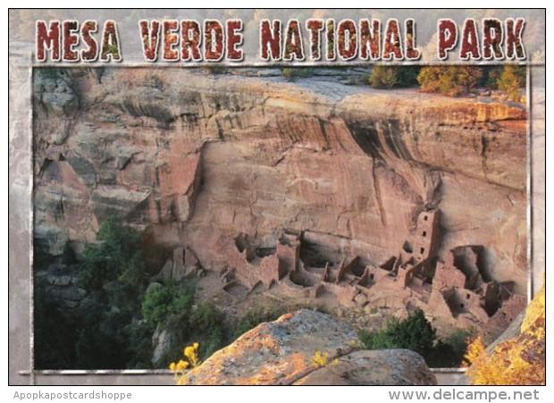 Colorado Mesa Verde Cliff Dwellings