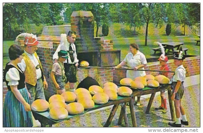 Michigan Frankenmuth Bavarian Inn Mrs Agnes Zehnder Baking Backo