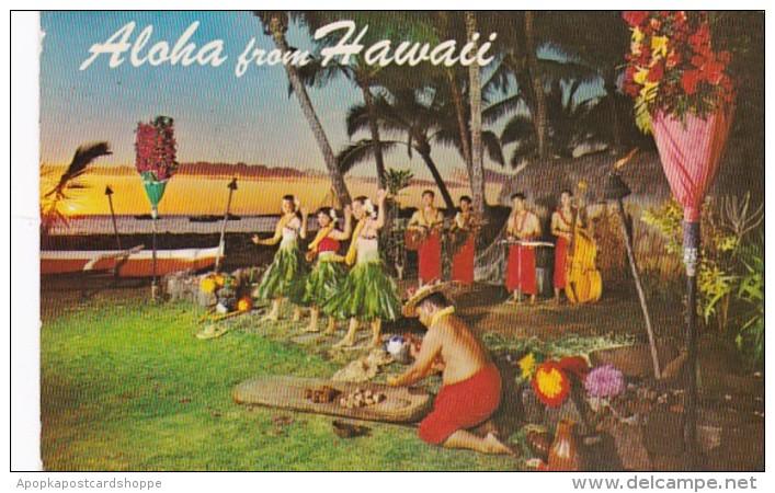 Hawaii Aloha Sunset & Polynesian Entertainment 1972