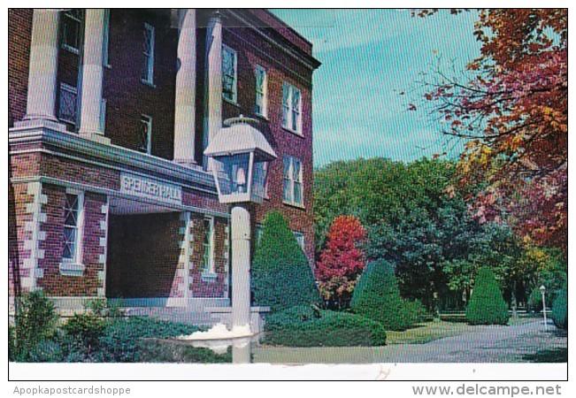 Kansas Sterling Spencer Hall Sterling College 1970
