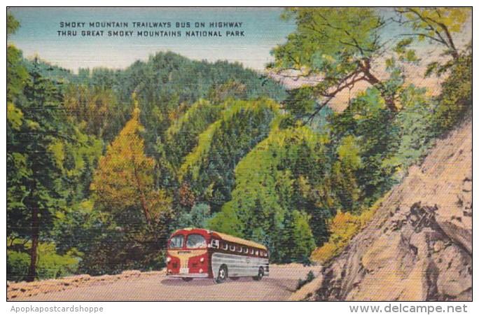 Smoky Mountains National Park Trailways Bus