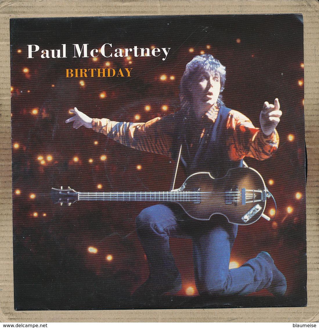 "7"" Single, Paul McCartney, Birthday - Disco, Pop"