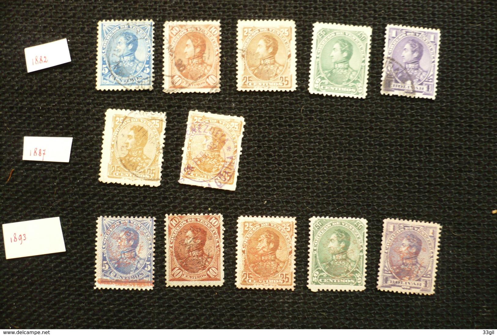 Venézuela 1882/93  Collection - Venezuela
