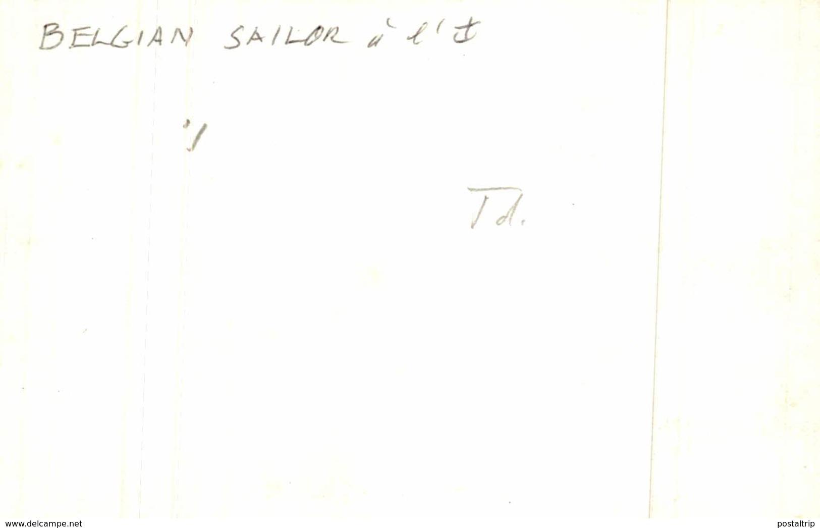 BELGIAN SAILOR  11.5 * 8 CM Bateau, Barco,  Bateaux, NaviRE - Barcos