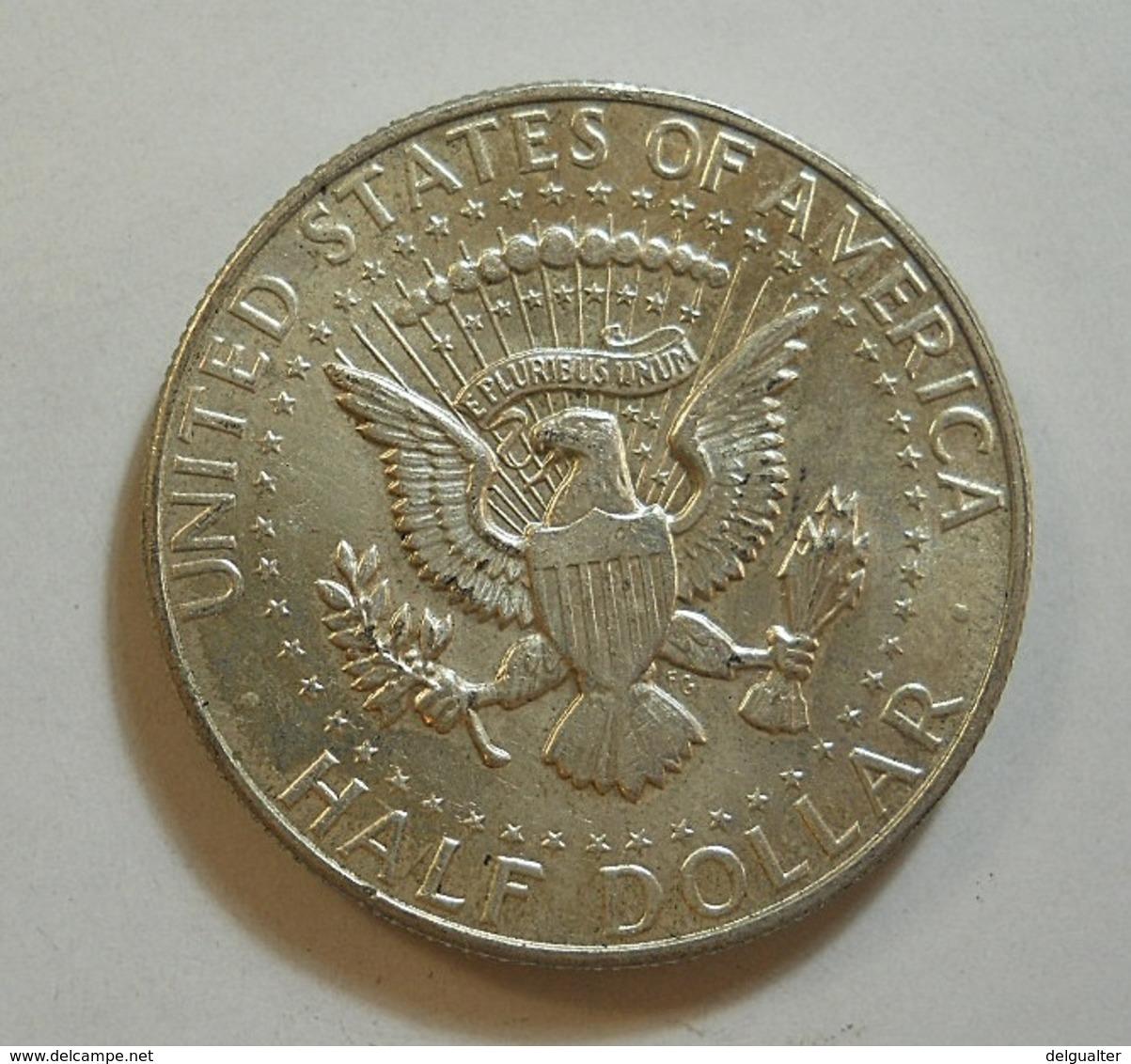 USA 1/2 Dollar 1966 Silver - 1964-…: Kennedy