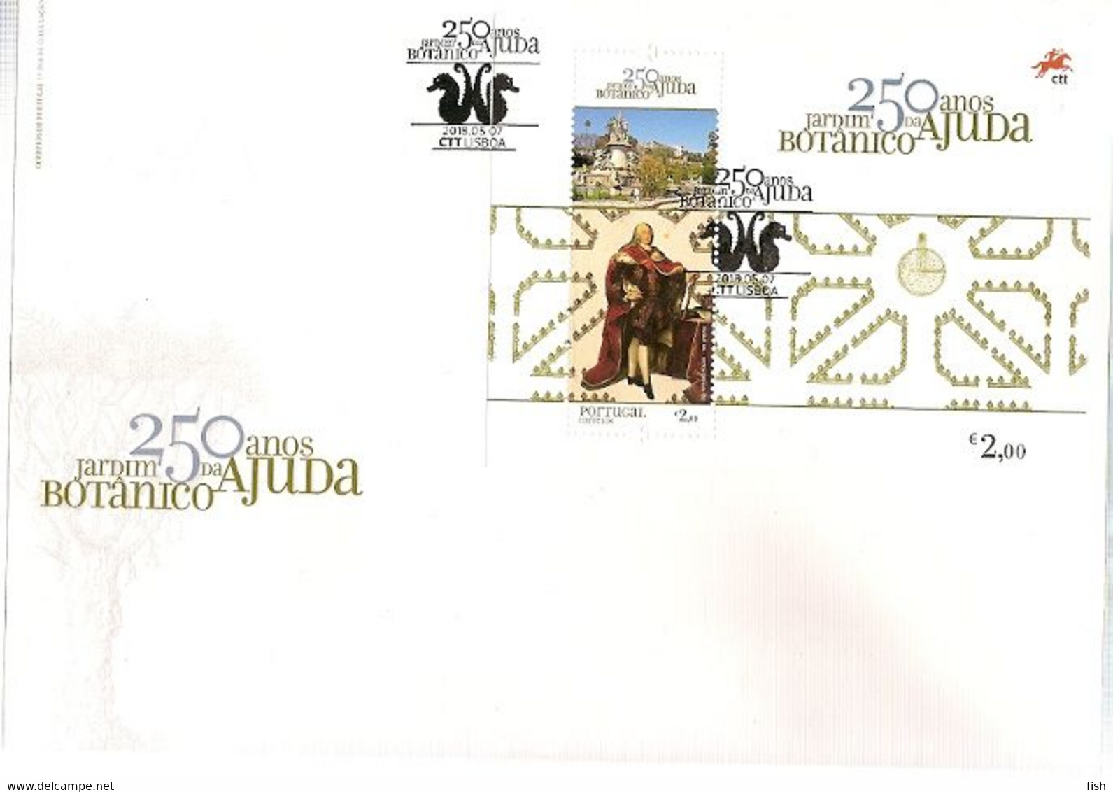Portugal & FDCB Botanical Garden Of Ajuda 25th Anniversary, Lisbon 2018 (3243) - Plants
