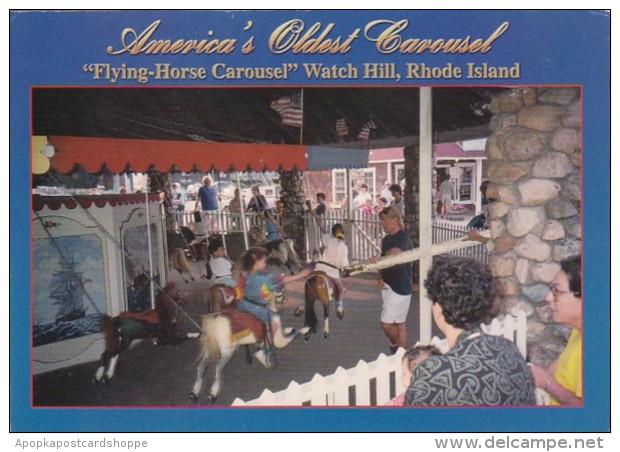 Rhode Island Watch Hill Flying Horse Carousel Americas Oldest Ca