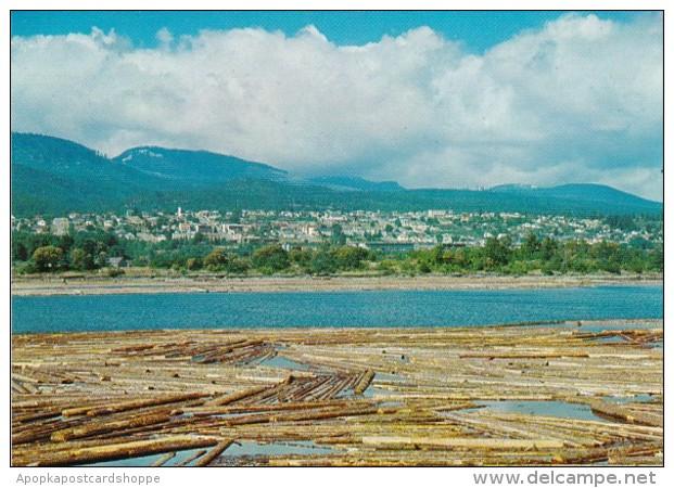 Canada Vancouver Island Log Pond