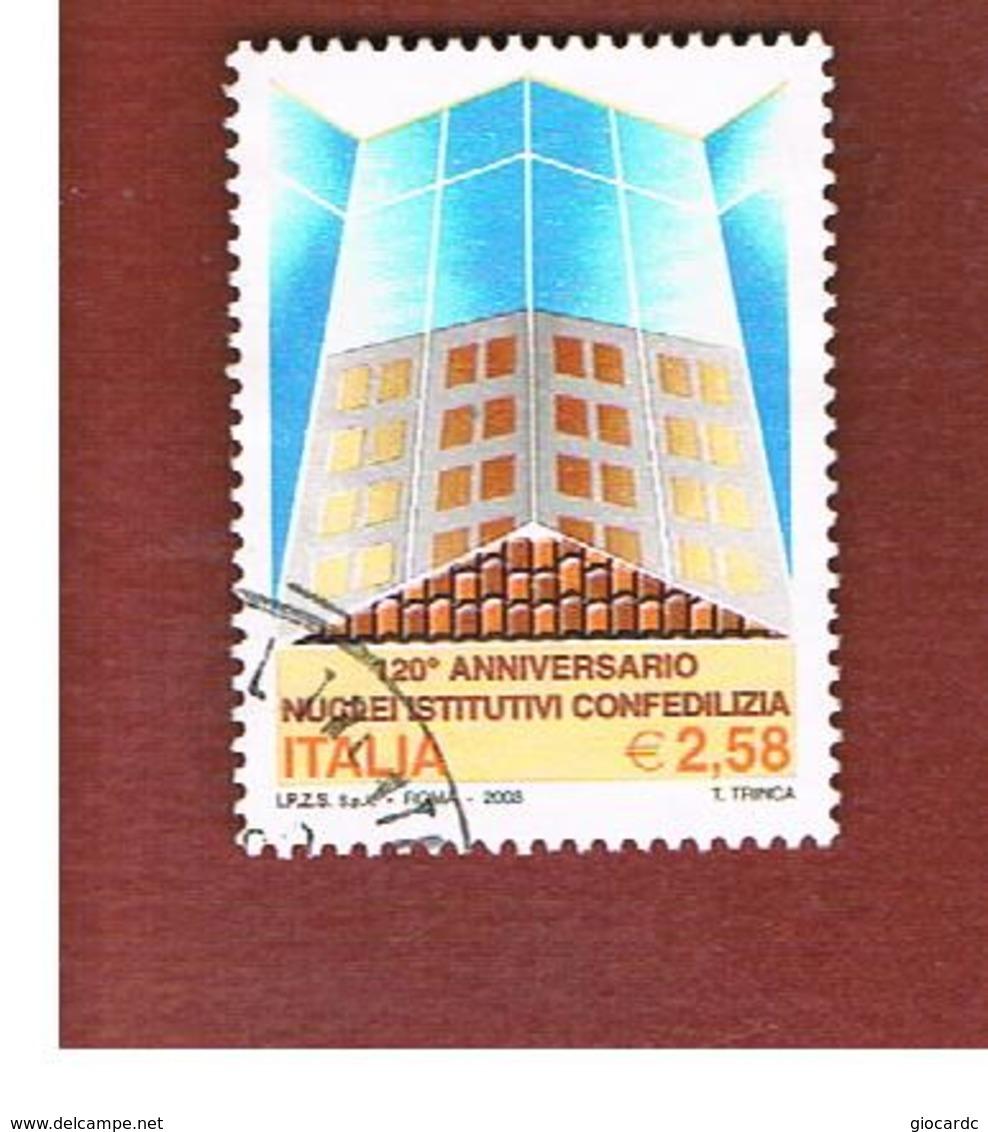 ITALIA REPUBBLICA  -  2003   CONFEDILIZIA  - USATO ° - 2001-10: Afgestempeld