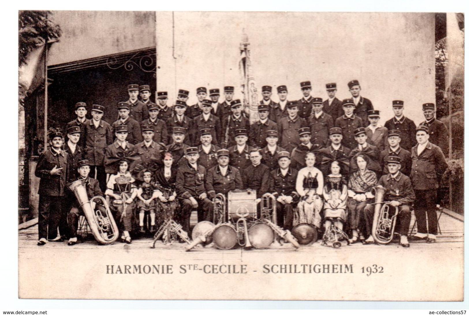 Schiltigheim / Harmonie Sainte Cécile  / 1932 - Schiltigheim