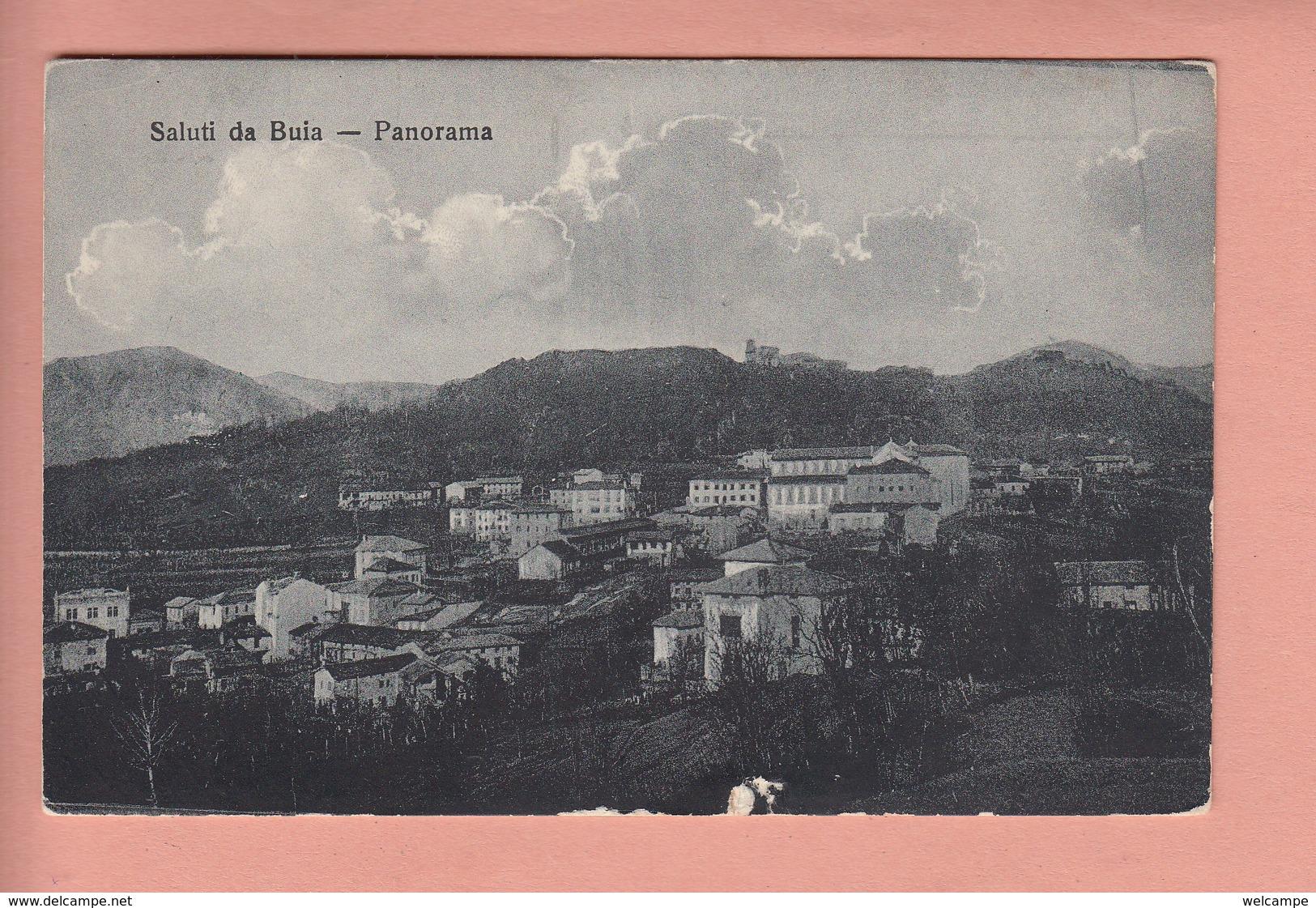 OLD POSTCARD ITALY - ITALIA -   SALUTI DA BUIA - Udine
