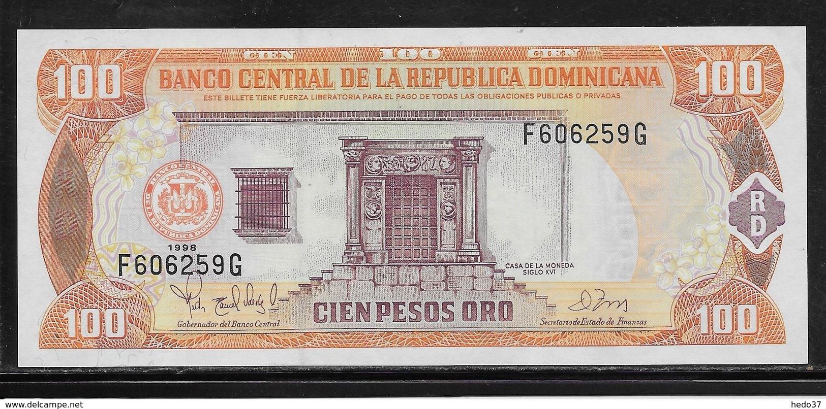 Dominicaine - 100 Pesos - Pick N°156b - SPL - Dominicaine