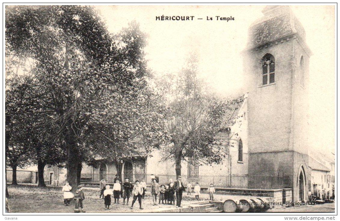 70 HERICOURT  - Le Temple - Otros Municipios