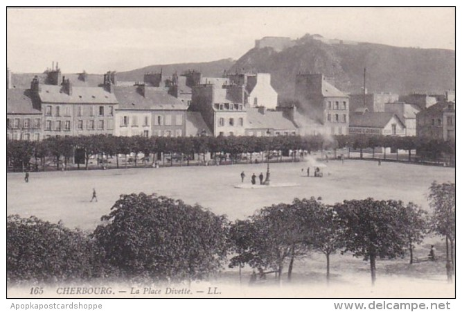 France Cherbourg La Place Divette