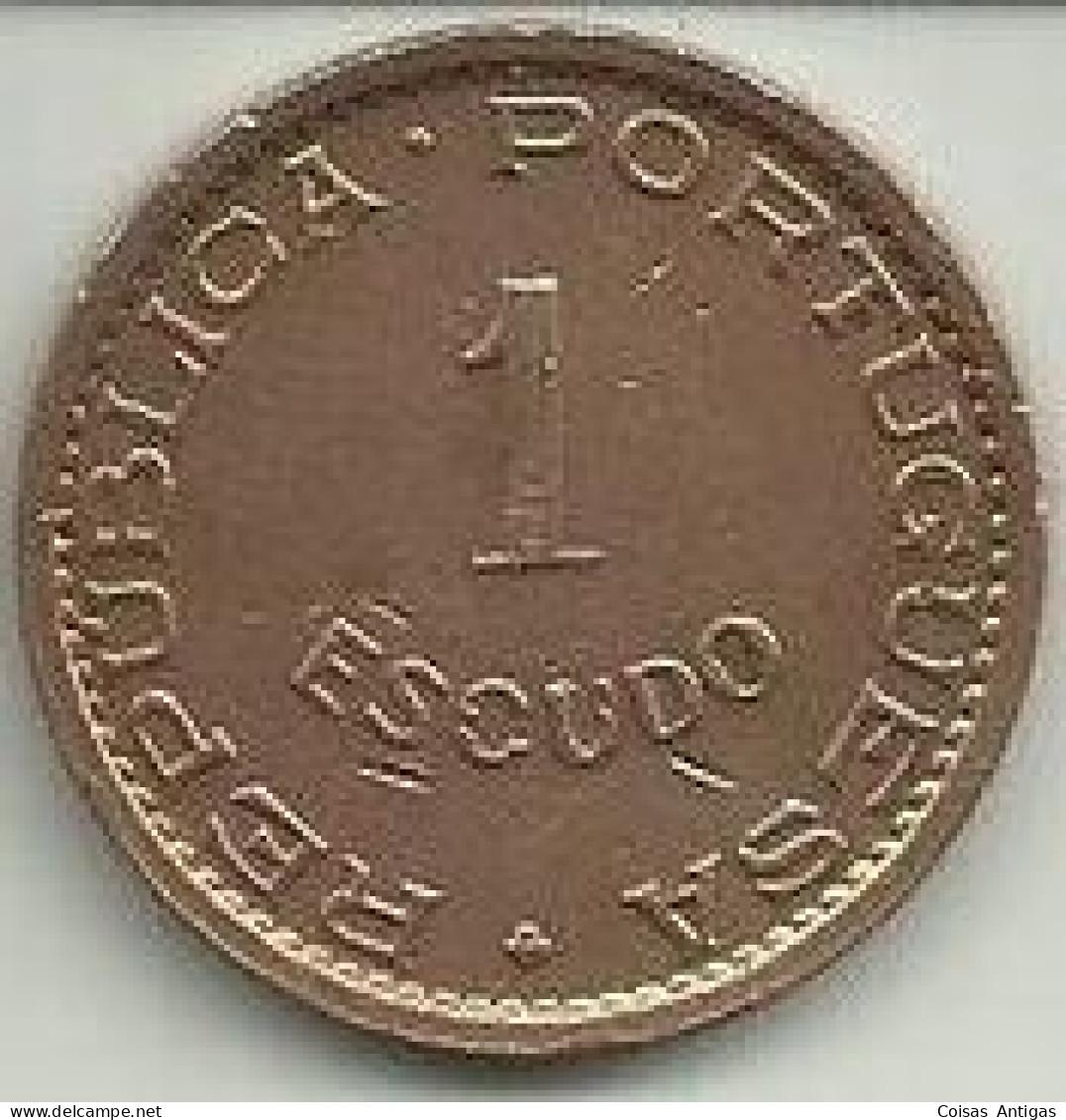1 Escudo 1970 Timor - Timor