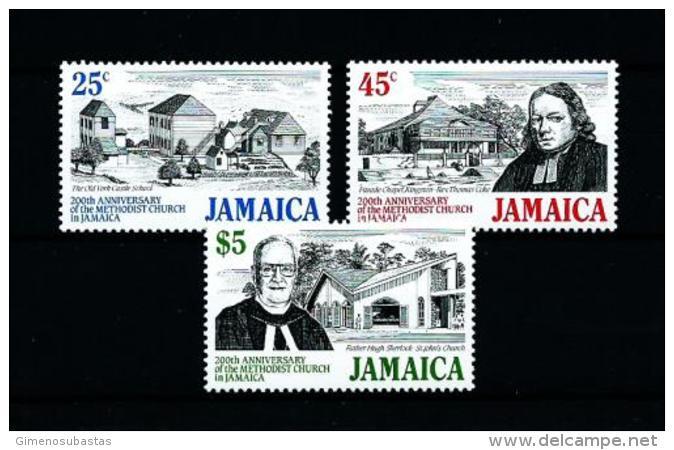 Jamaica  Nº Yvert  740/2  En Nuevo - Jamaica (1962-...)