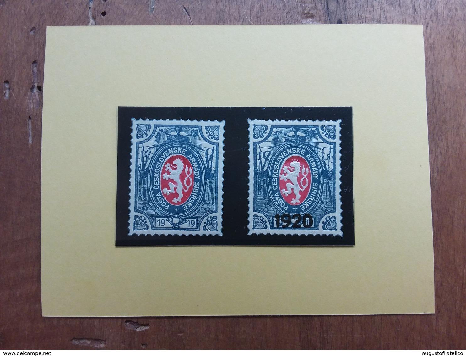 CECOSLOVACCHIA 1920 - Spedizione In Siberia - Leone Di Boemia */** + Spese Postali - Cecoslovacchia