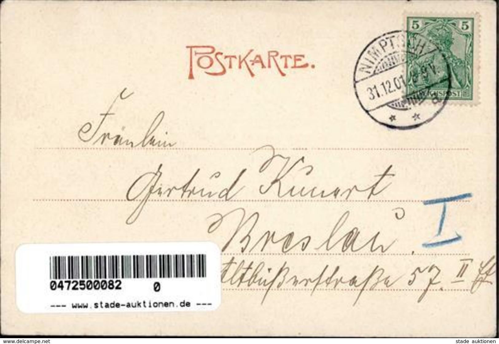 Nimptsch Handlung Joseph Christian 1901 I-II - Weltkrieg 1914-18