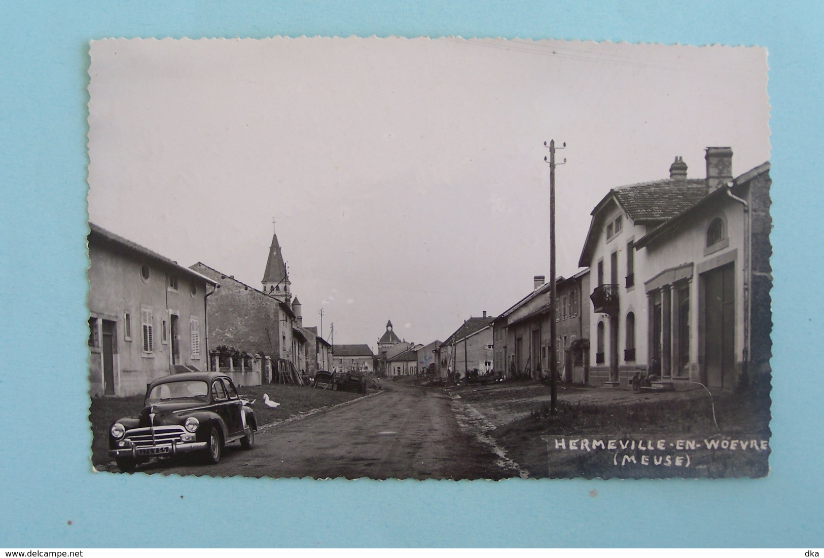 Hermeville-en-woevre:rue Principale - France