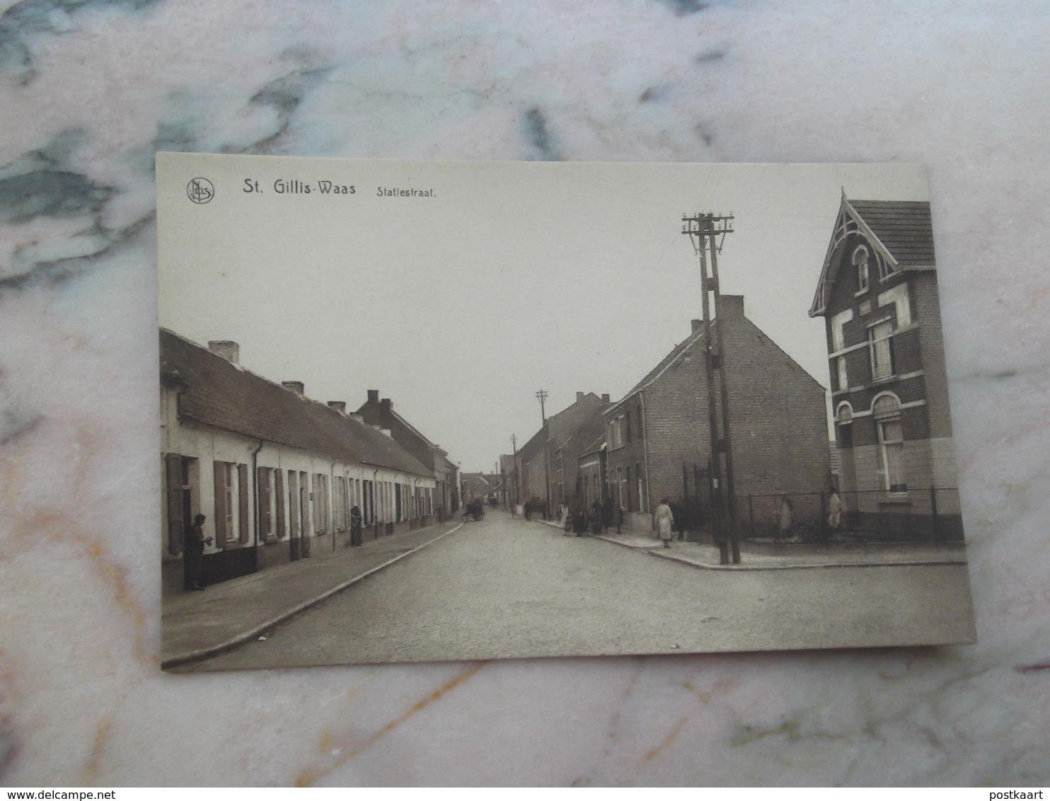 SINT-GILLIS-WAAS: Statiestraat - Sint-Gillis-Waas