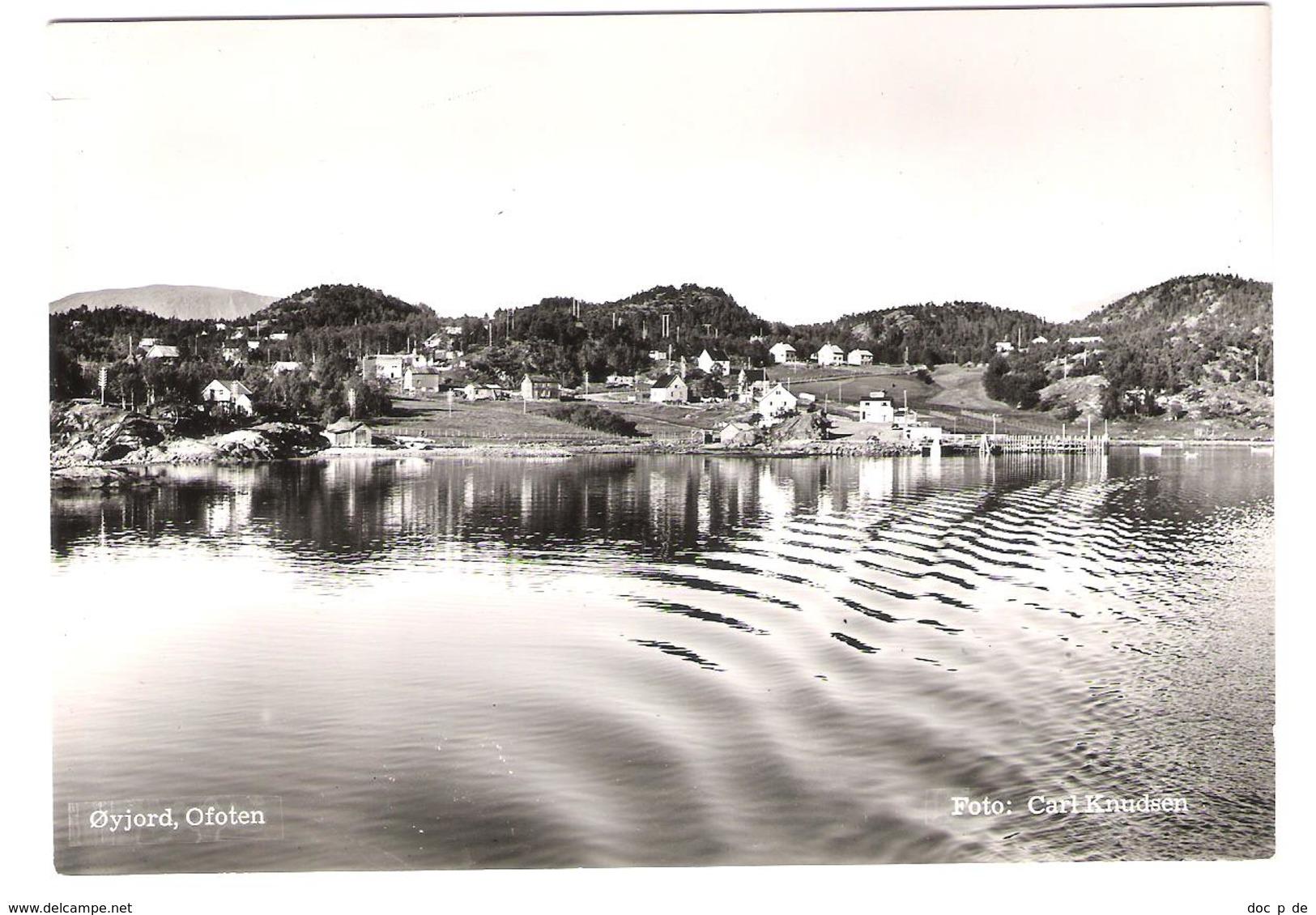 Norway - Norge - Öyjord - Ofoten Near Narvik - Old View - Norwegen