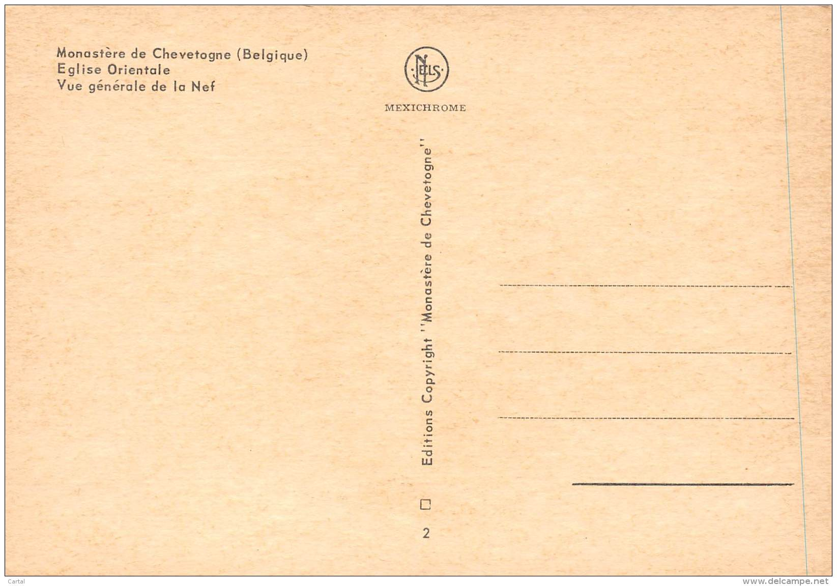 CPM - Monastère De Chevetogne - Eglise Orientale - Vue Générale De La Nef - Ciney