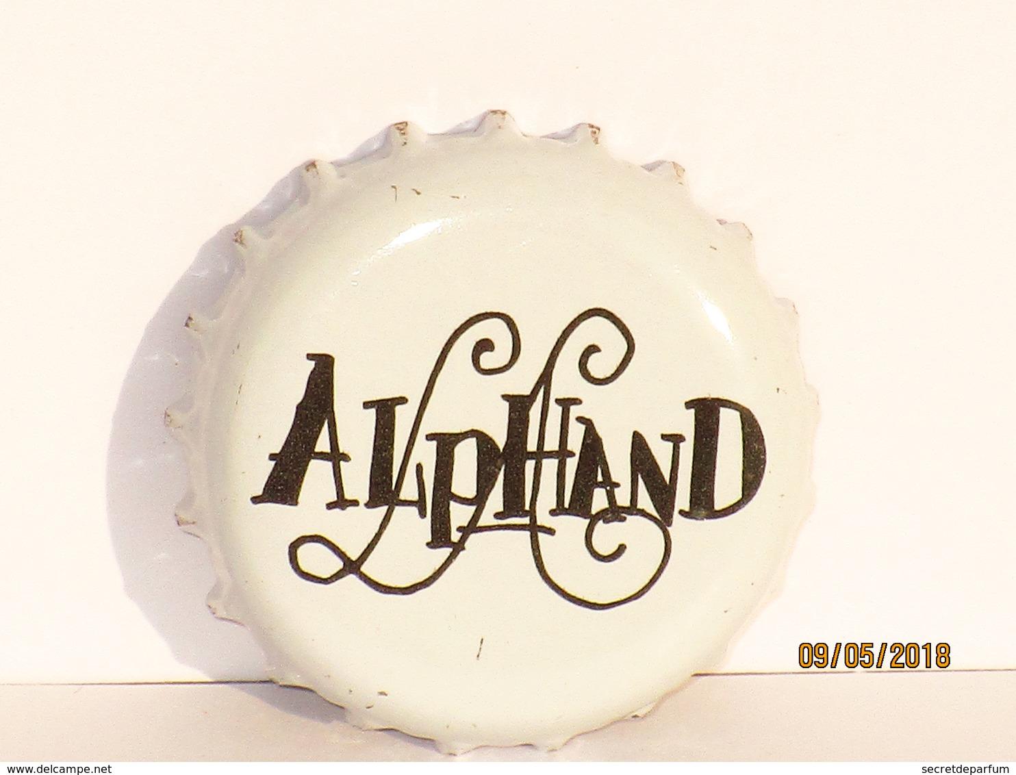 Capsules Ou Plaques De Muselet   BIÈRE  LUC ALPHAND - Bière