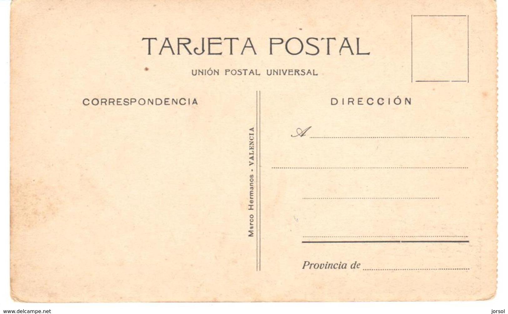 POSTAL   ARZILA  -MARRUECOS  - CEMENTERIO MORO Y MORABITO - Marruecos