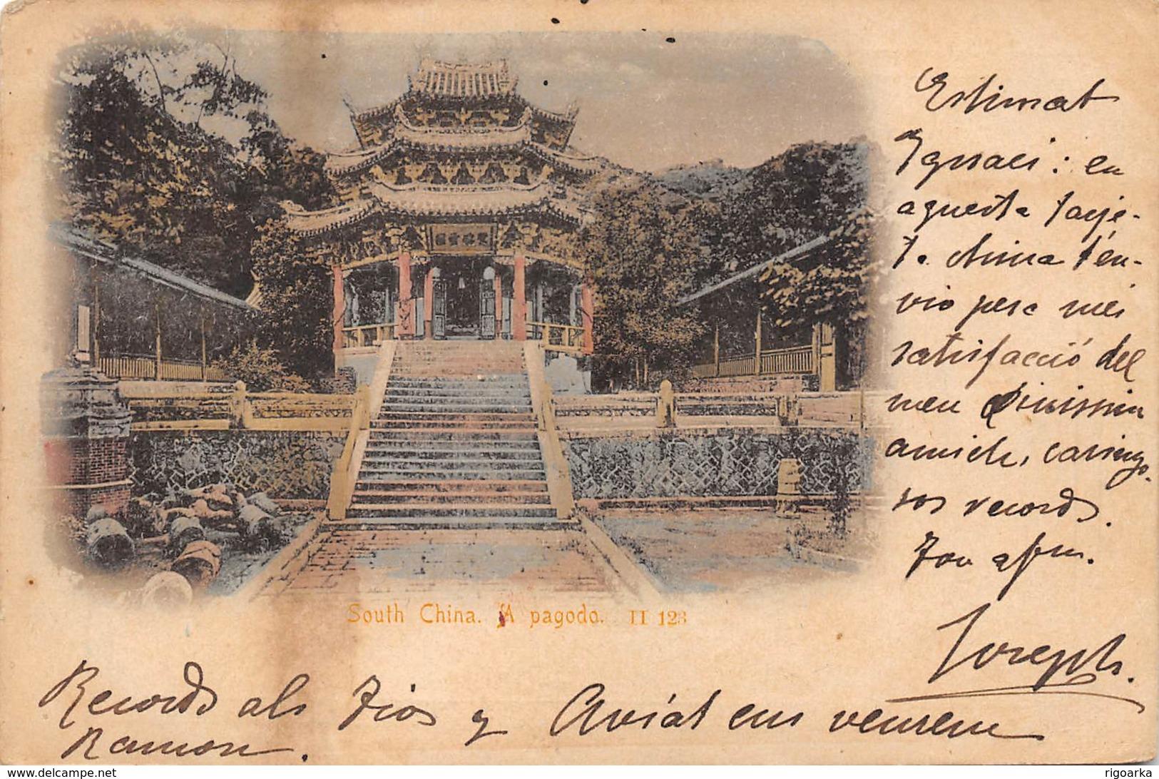 SOUTH CHINA . A PAGODA - China