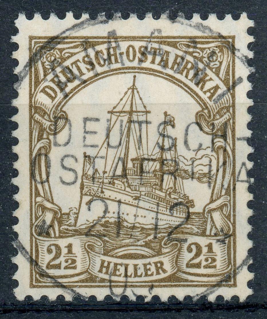 """""""AMANNI"""" Zentrischer Vollstempel Auf Nr. 22 - Kolonie: Deutsch-Ostafrika"""