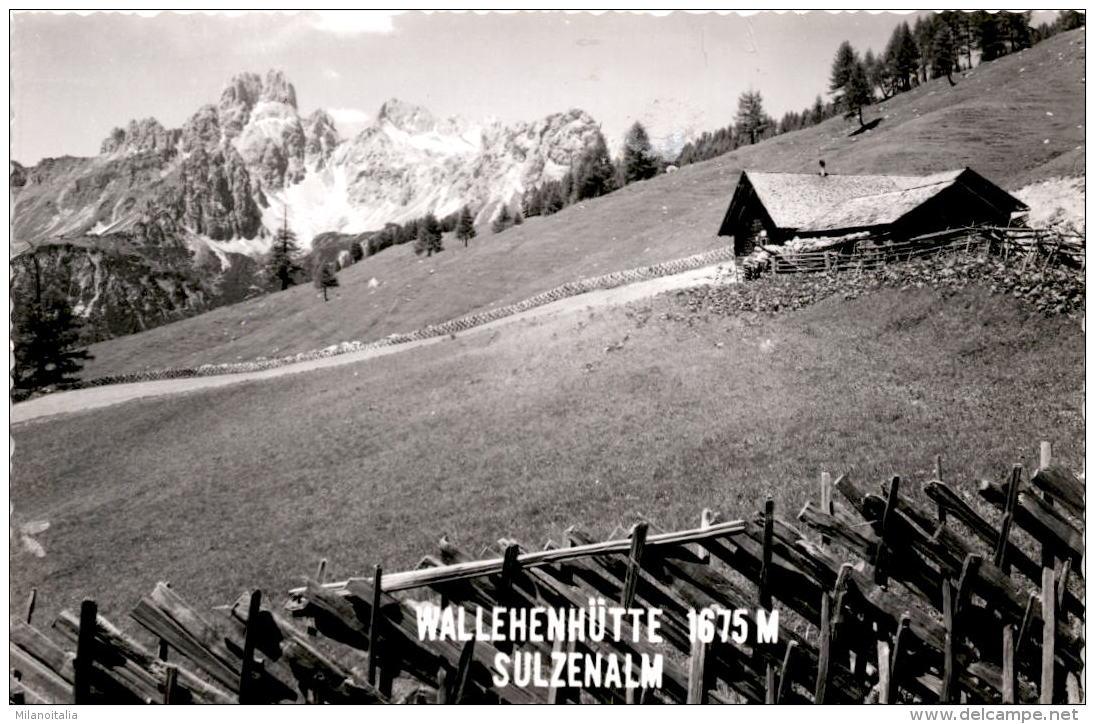 Jausenstation Sulzenalm - Wallehen-Hütte - Filzmoos Im Pongau - Filzmoos