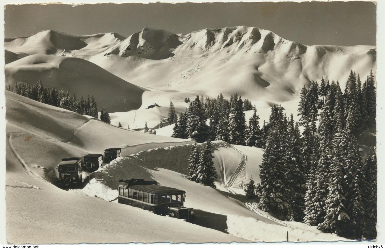 Adelboden - Autobus Verkehr Geils - Hahnenmoos 1940 - BE Berne