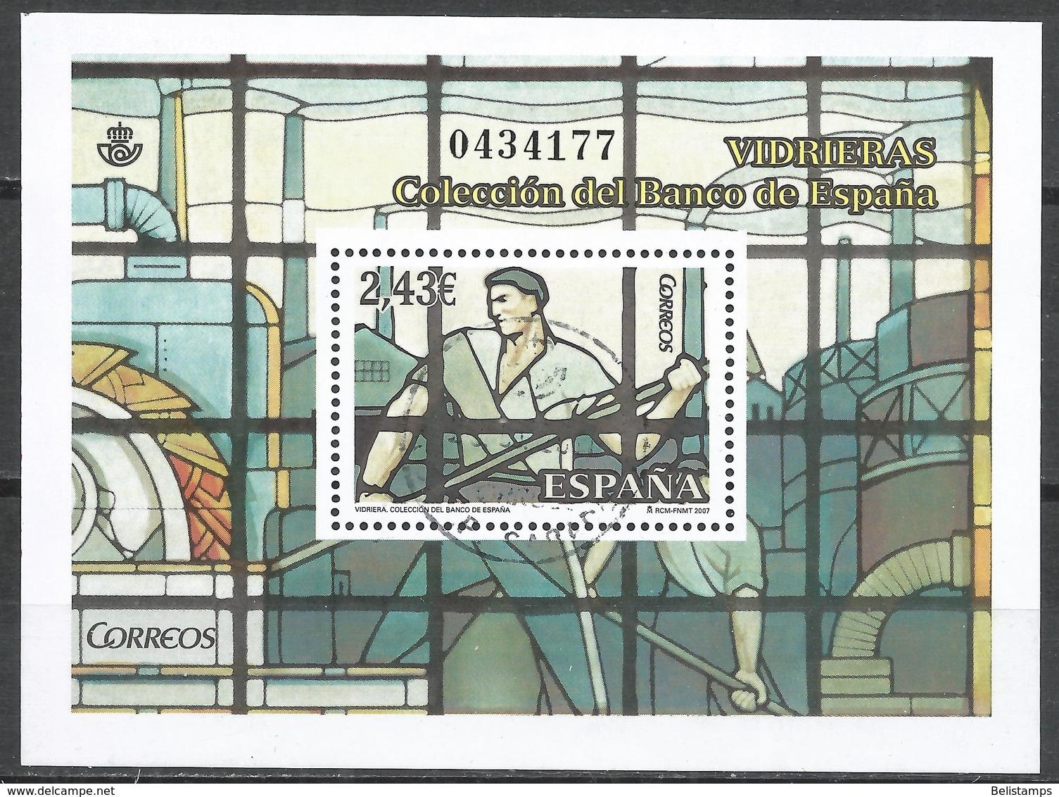 Spain 2007. Scott #3531 (U) Stained-Glass Window By Alberto Martorell * - 2001-10 Oblitérés