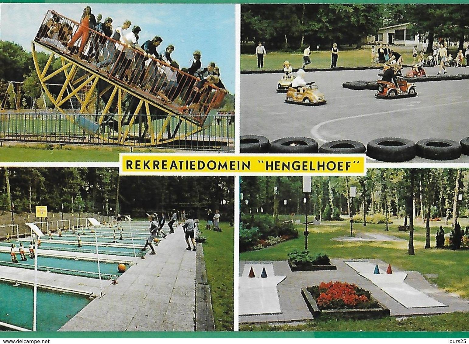 "! - Belgique - Houthalen - Rekreatiedomein ""Hengelhoef"" - Parc D'attractions De ... - Houthalen-Helchteren"