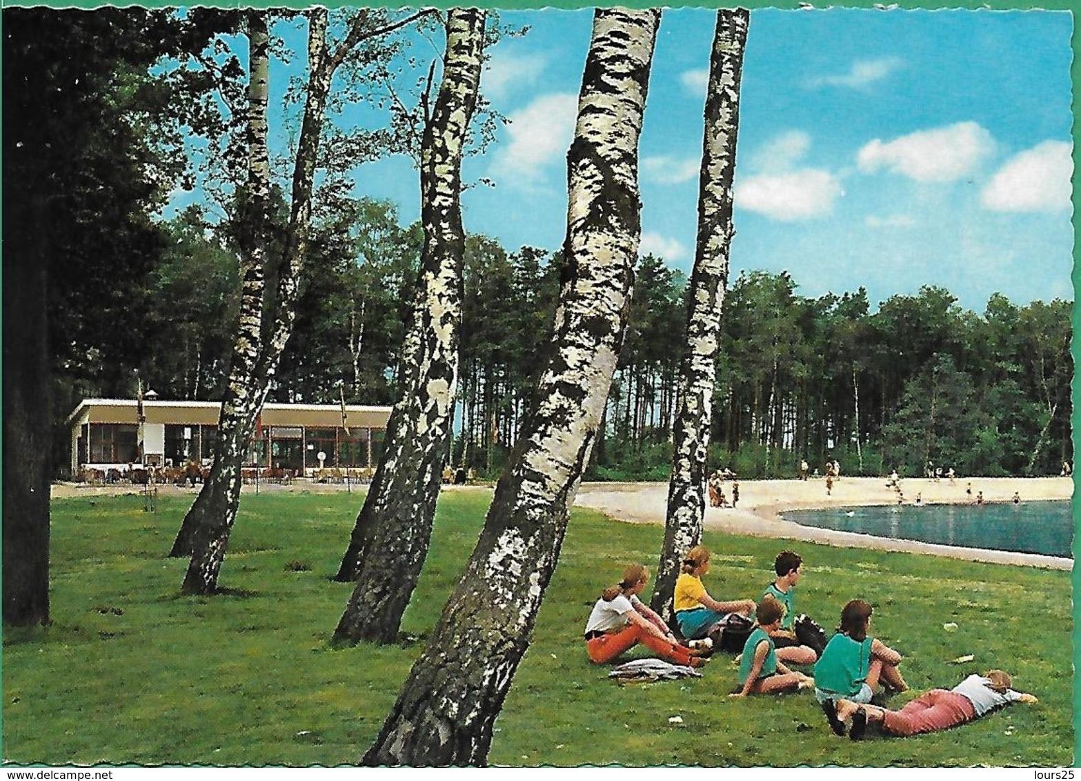 """! - Belgique - Houthalen - Domein """"Hengelhoef"""" - Zwemvijver - Attractiepark (Parc D'attractions) - Houthalen-Helchteren"""