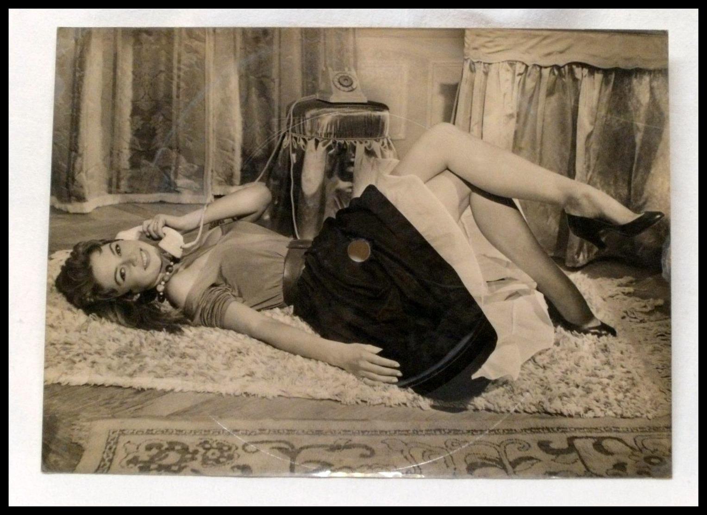 TOP RARE MUSIC-AK/PC/CP BRIGITTE BARDOT - Vintage Singing Post Card ! 21 X 15,2 Cm ! BARDOT-MAMBO - 1700564 - Schauspieler