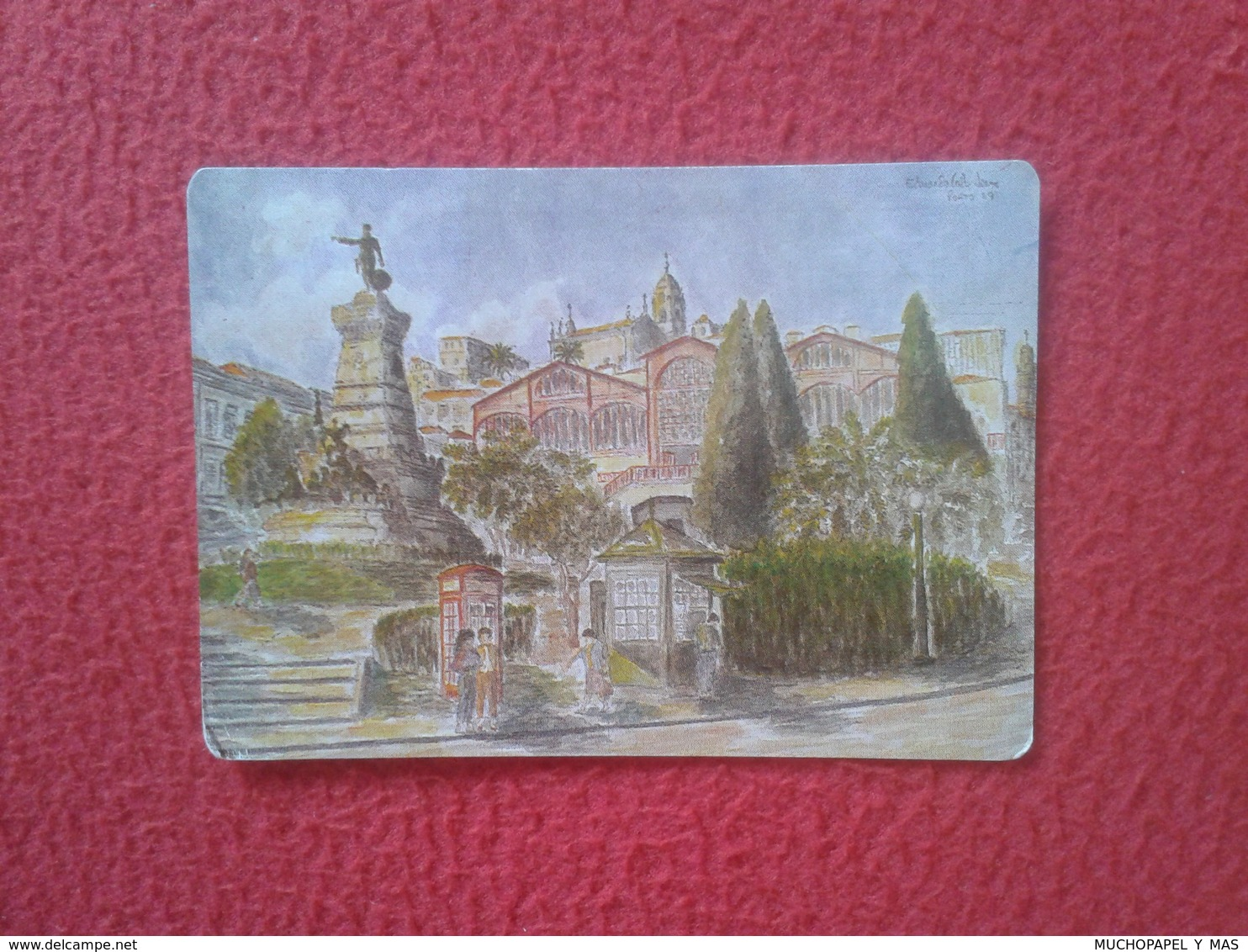 CALENDARIO DE BOLSILLO MANO PORTUGAL PORTUGUESE CALENDAR 1991 OFICINA S. SAN JOSÉ TIPOGRAFÍA PORTO OPORTO VER FOTO/S Y D - Calendarios