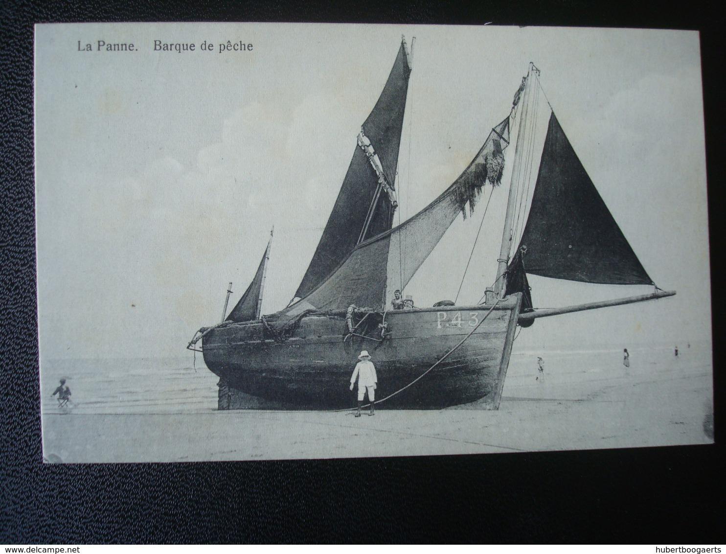 LA PANNE: Barque De Pêche - De Panne