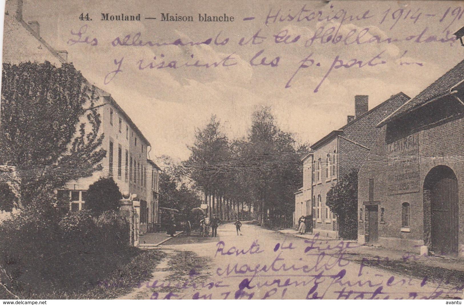 MOULAND / VOEREN / MAISON BLANCHE - Fourons - Voeren