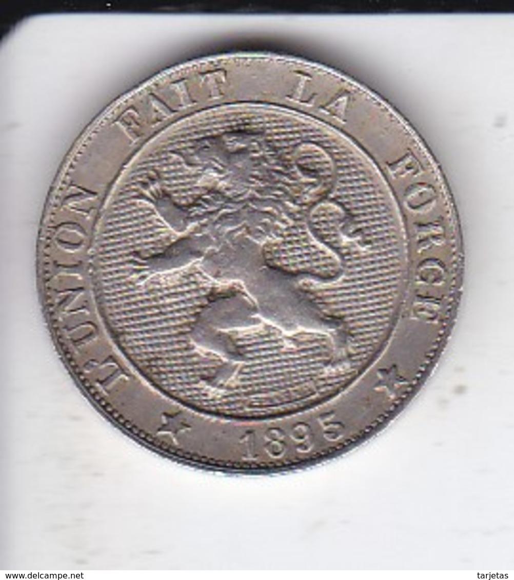 MONEDA  DE BELGICA DE 5 CENTIMES DEL AÑO 1895  (COIN) - 1865-1909: Leopold II