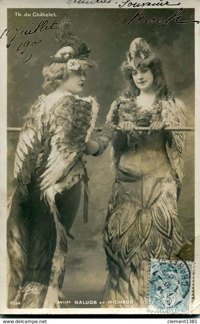 Theatre Du Chatelet Mlles Naluob Et Michaud - Entertainers