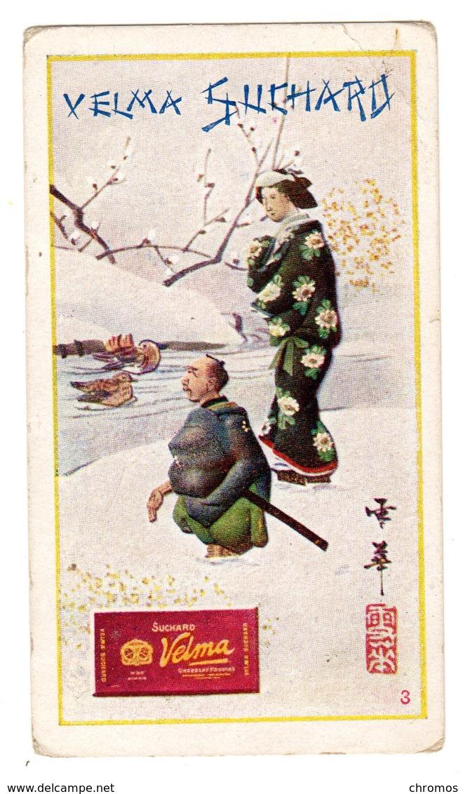 Chromo Chocolat Suchard, Suisse, 299 / 3, Japonais, En Japon - Suchard