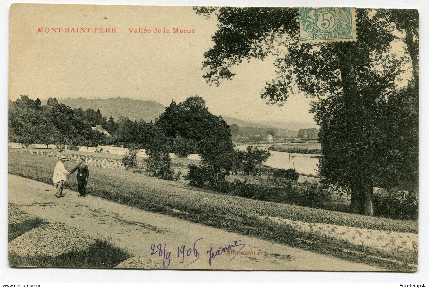CPA - Carte Postale - France - Mont Saint Père - Vallée De La Marne - 1906 (CP2964) - Autres Communes