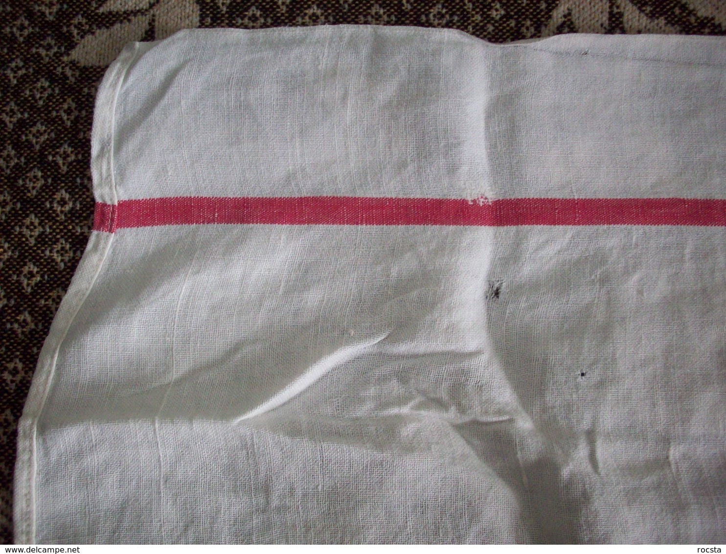 WWI French Army Cotton Towel - 1914-18