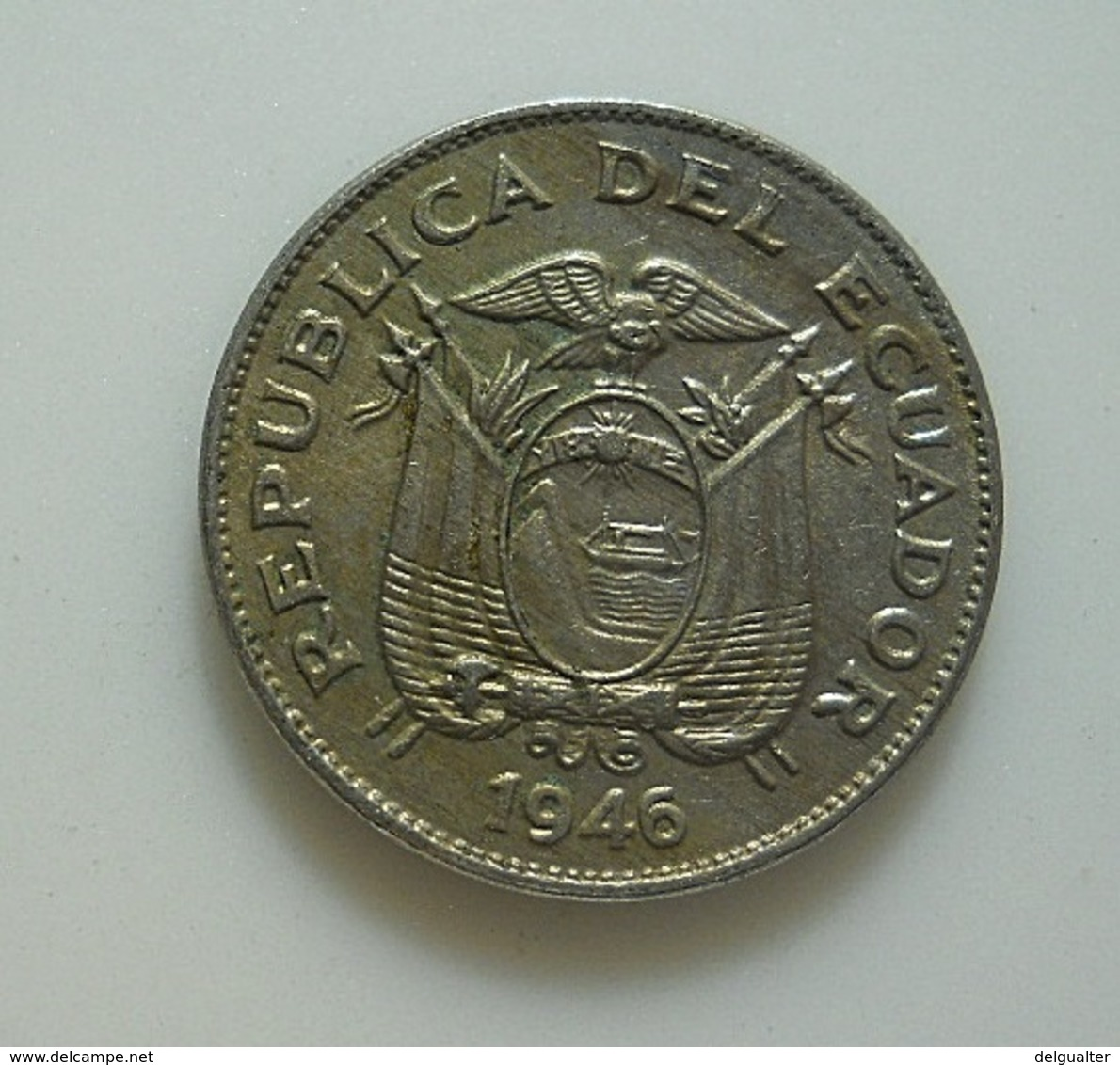 Ecuador 5 Centavos 1946 - Ecuador