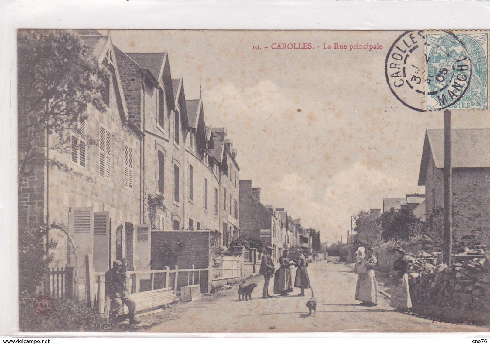 Carolles La Rue Principale N° 10 - France