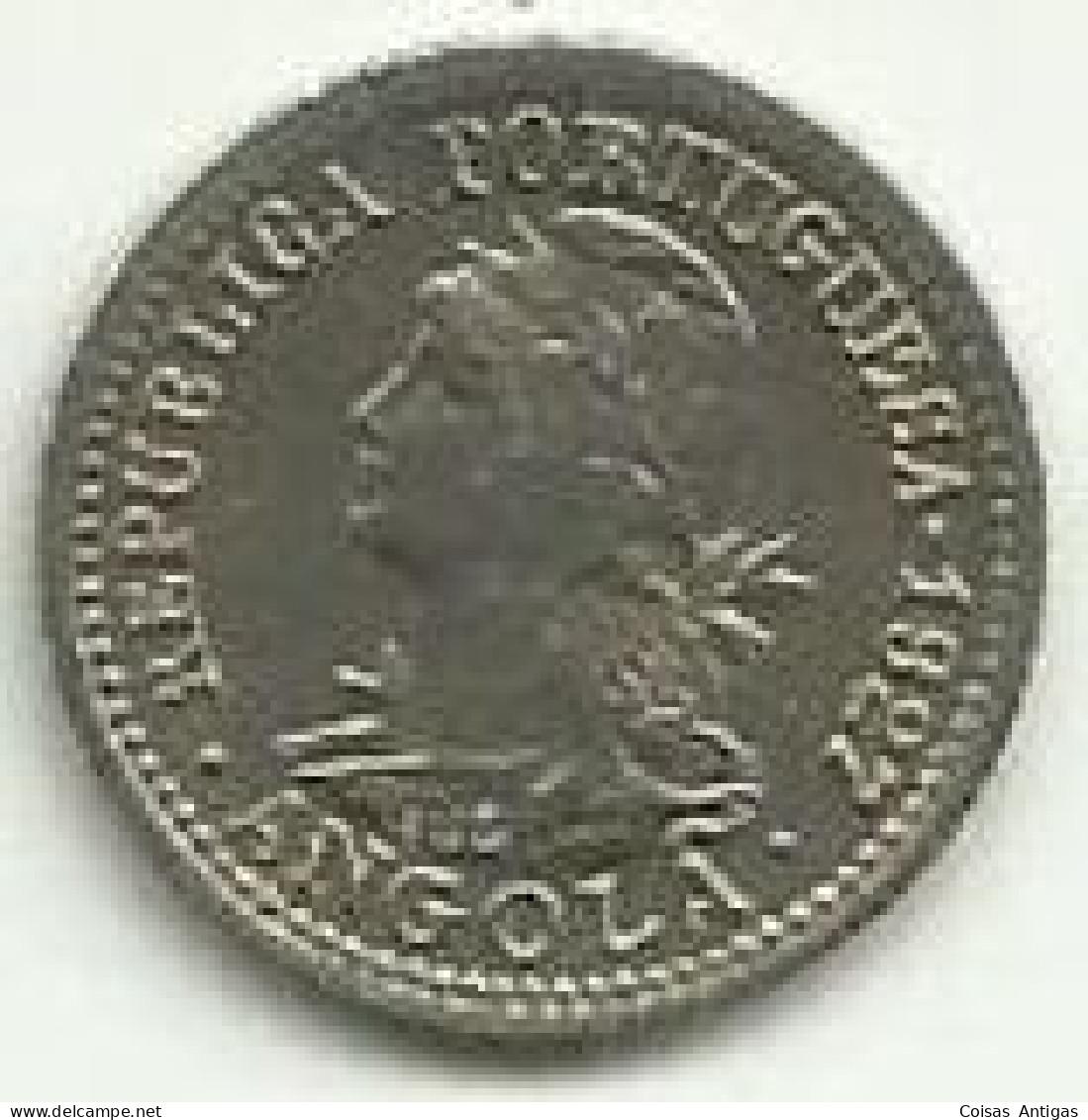 1 Macuta 1927 Angola - Angola